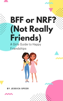 BFF or NRF (Not Really Friends) Book Cover