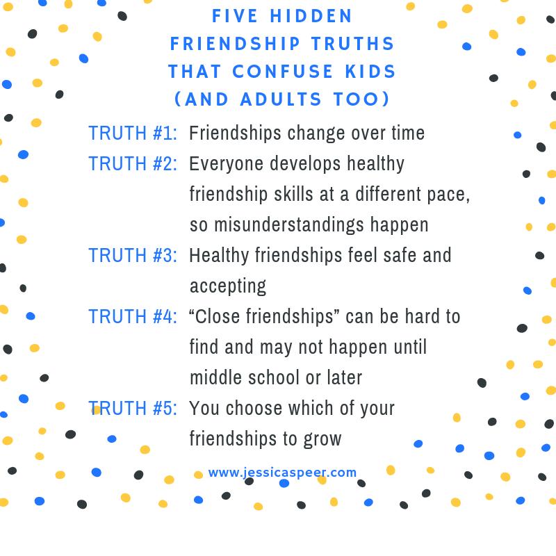 Five Hidden Friendship Truths That Confuse Kids