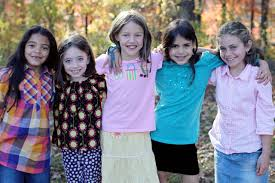 photo of five girls